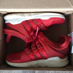 Toddler Adidas 7k red/white